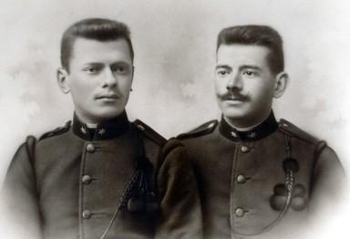 Walter and Franciszek Wawszkiewicz  - Austrian Army