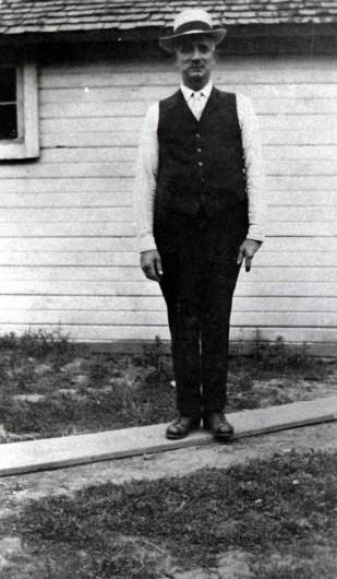 William Morgan, at the Larson Farm