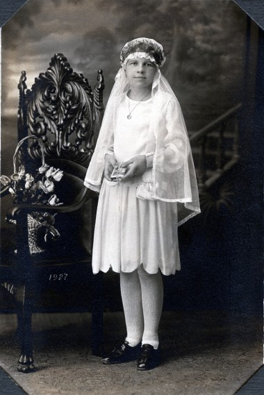 Helen Wagner, 1st Communion